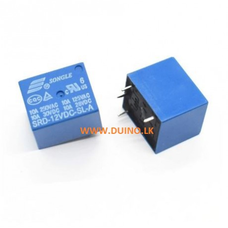 Relay SRD-12VDC-SL-C PCB Type Relay 5 Pins