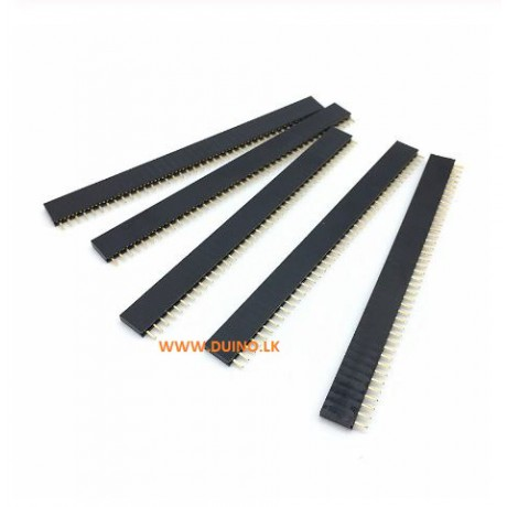 Female Pin Header Breakable Strip 2.54mm 1X40 *1Pcs