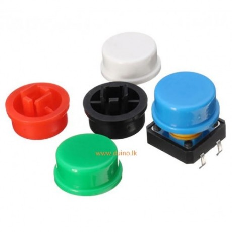Tactile Push Button Momentary Switch 4 Pins 12x12x7.3mm *1Pcs