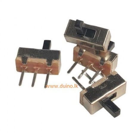 Slide Switch 2 Position 3 Pin SPDT 1P2T Through Hole PCB *1Pcs