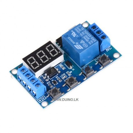 Programmable Timer Switch 6-30V Relay Module Trigger Time Delay Switch