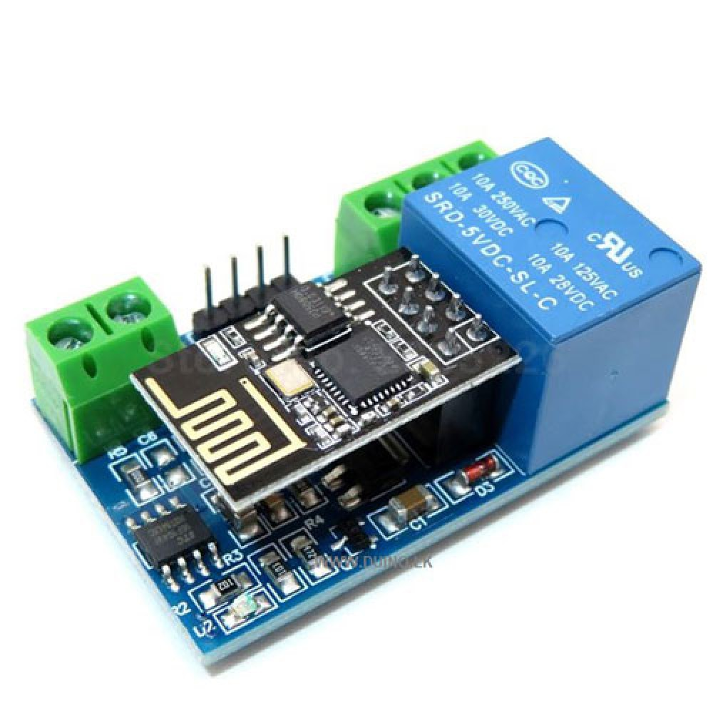 ESP8266 5V Wifi Relay Module Remote Control Switch Phone APP For Smart Home IOT Transmission Distance 400m ESP-01S