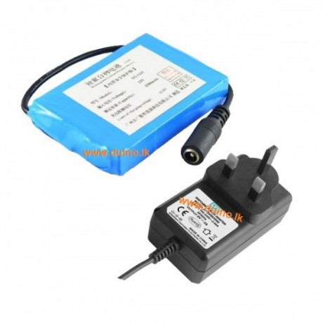 12V 3000ma Battery With 12.6V 1.3A SMPS Charger