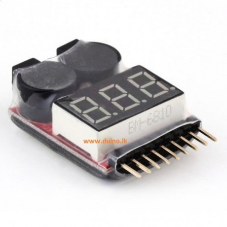 2IN1 Li-ion RC Lipo Battery Low Voltage Indicator