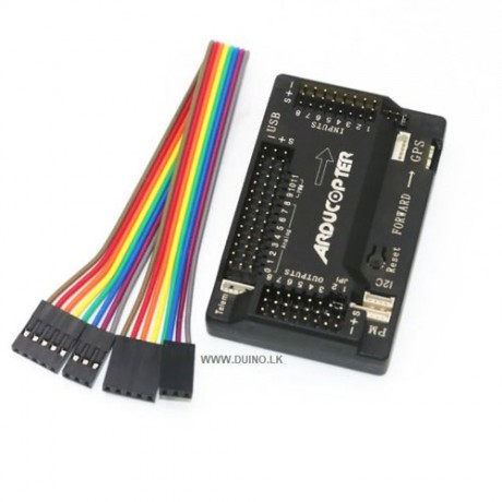 APM 2.8 Flight Controller 2.5 2.6 Upgraded Built-in Compass Straight pin with Case