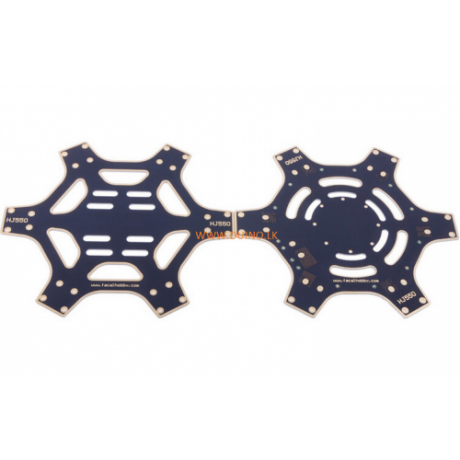 F550 Hexa Frame Arm HexaCopter PCB with Landing Gear
