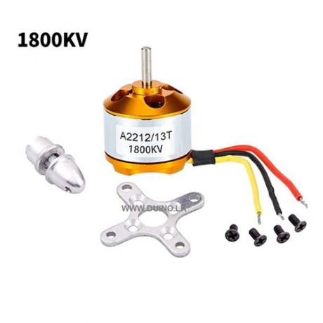 A2212 1800KV Brushless Motor For RC Aircraft Multicopter