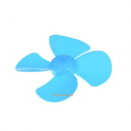 Four-blade propeller aperture fixed-wing fan blade