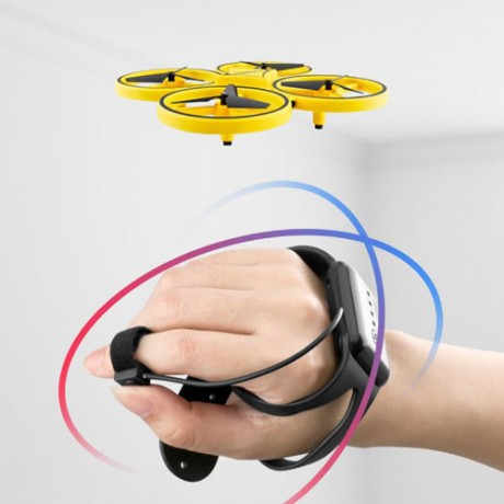 Mini Infrared Induction Hand Control Drone