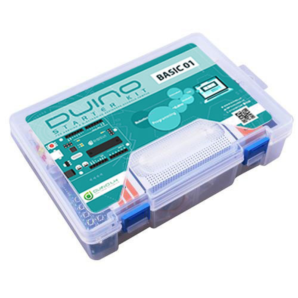 Basic Startup Kit 01 With Arduino Nano 3.0 + Plastic Container