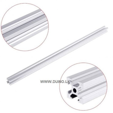 V Slot 2020 Aluminum Extrusion 20x20mm Aluminum Profile Extrusion 1M