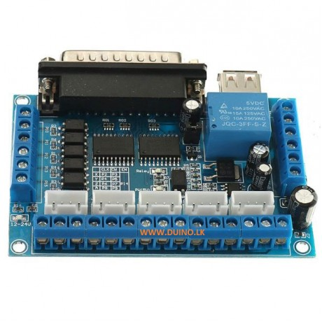 5 Axis CNC Breakout Board Interface Stepper Driver Controller
