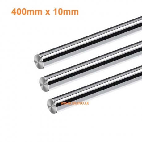 400mm 10mm Smooth Shaft Rod Diameter 10mm Length 400mm *1Pcs