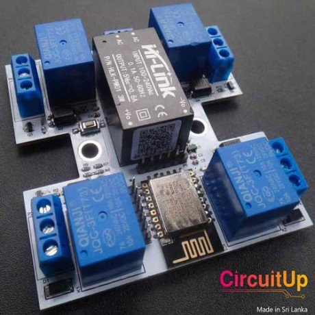 WiFi Over Controlled Relay 4CH Module