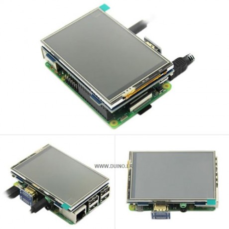 3.5 inch LCD HDMI USB Touch Screen Real HD 1920x1080 LCD Display for Raspberry pi / Orange Pi