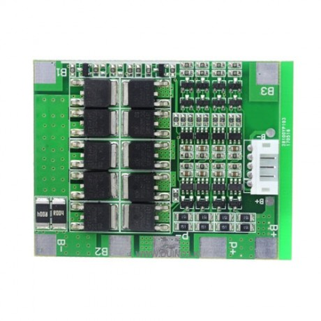 4S 14.8V Li-ion Lithium 18650 Battery BMS Protection Board