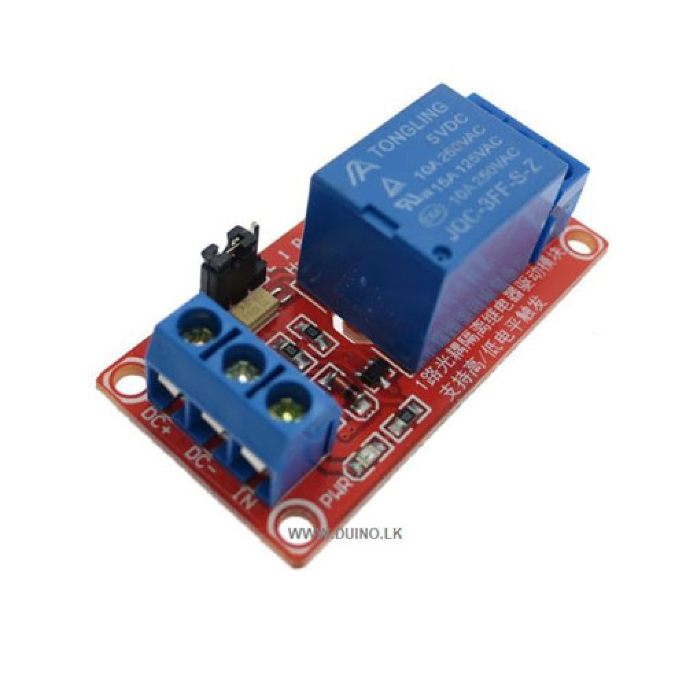 5V 1Ch Relay Module Board with Optocoupler