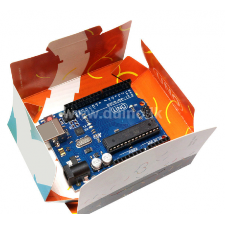 Arduino Compatible R3 ATMEGA328P 16U2 With Retail Package Box