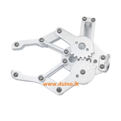 2DoF Aluminum Gripper Clamp Mechanical Arm *Without Motor