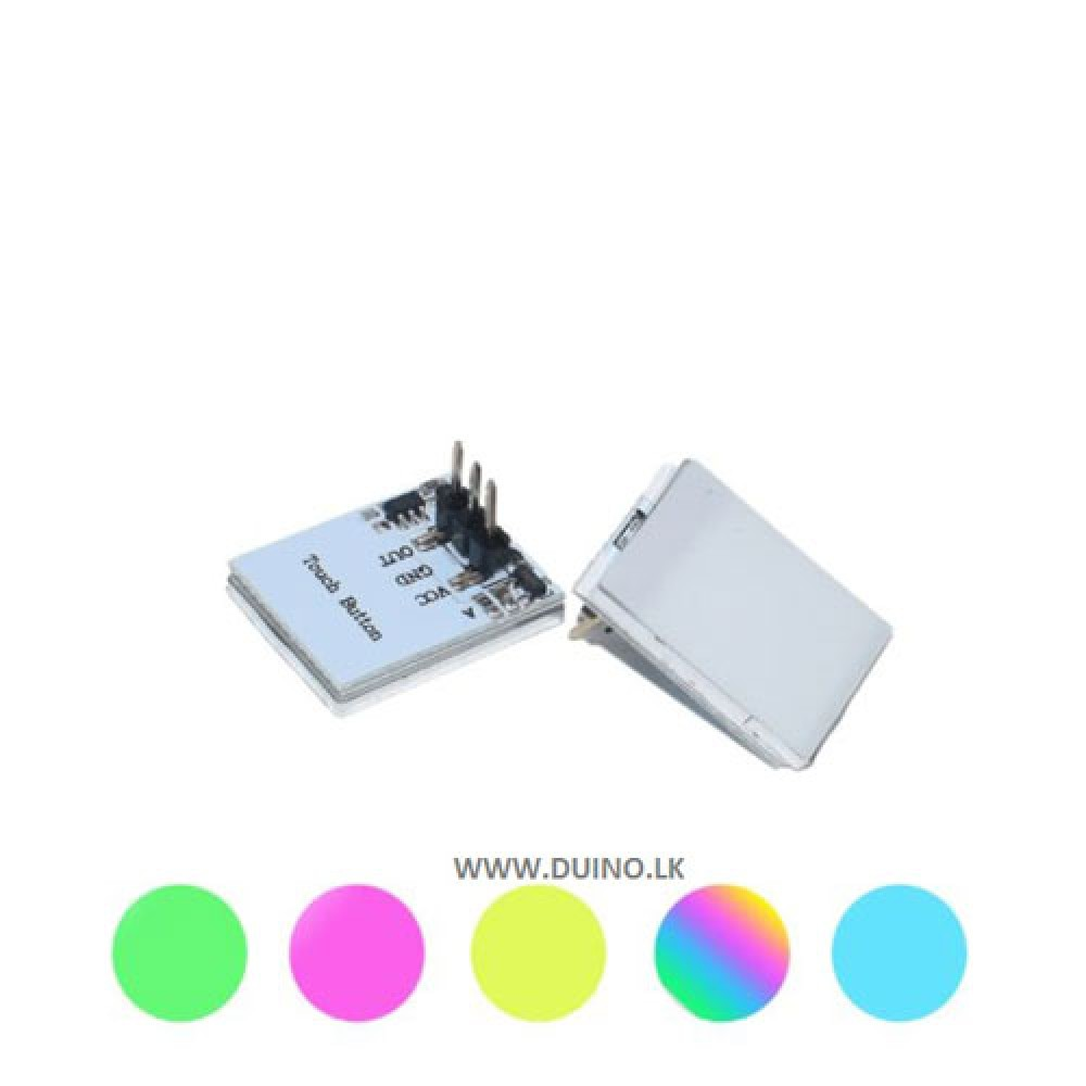 RBG HTTM Series Capacitive Touch Switch Button Module 2.7 V to 6 V module anti-jamming