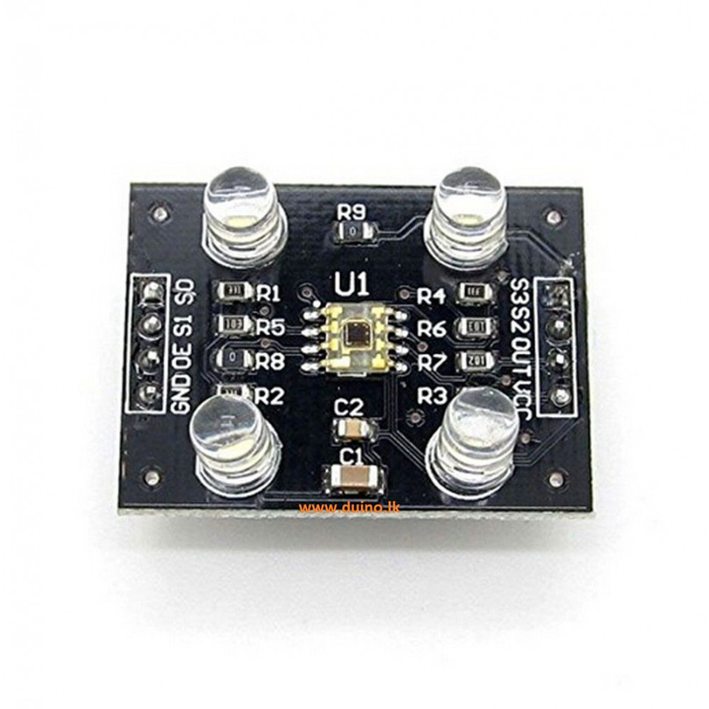 Color Recognition Sensor Module Color Detector Sensor TCS230 TCS3200