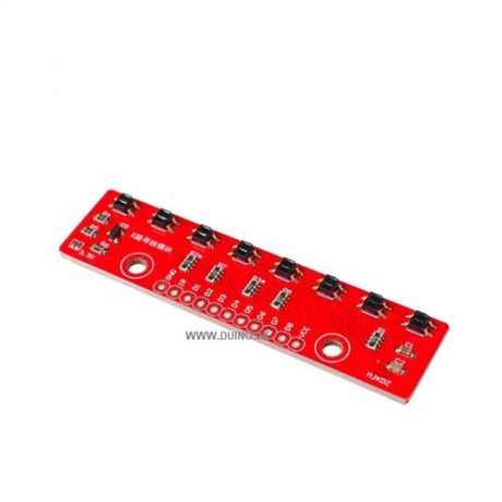 8 Channel IR Tracking Sensor Module Infrared Line Track Trace Detect Detection Board